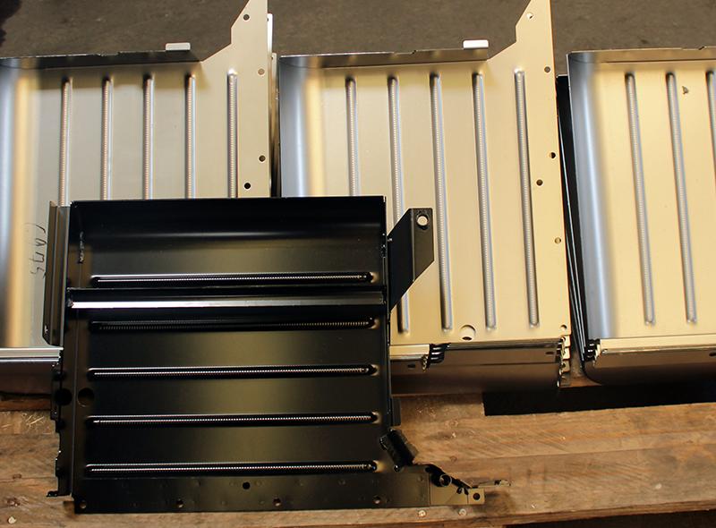 BCK GmbH, Metallverarbeitung, Oberflächenschutz, Zinklegierung, KTL-Grundierung, Schutzfolien, Abkanten, Schweißbaugruppen