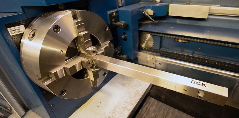BCK GmbH Köln, Metallverarbeitung, Rohrlaser, Laser-Rohrschneiden